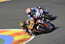 Loris Baz, Forward Racing Yamaha and Hector Barbera, Avintia Racing Ducati