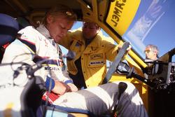 Ari Vatanen, Peugeot 205 Turbo 16 and Jean Todt