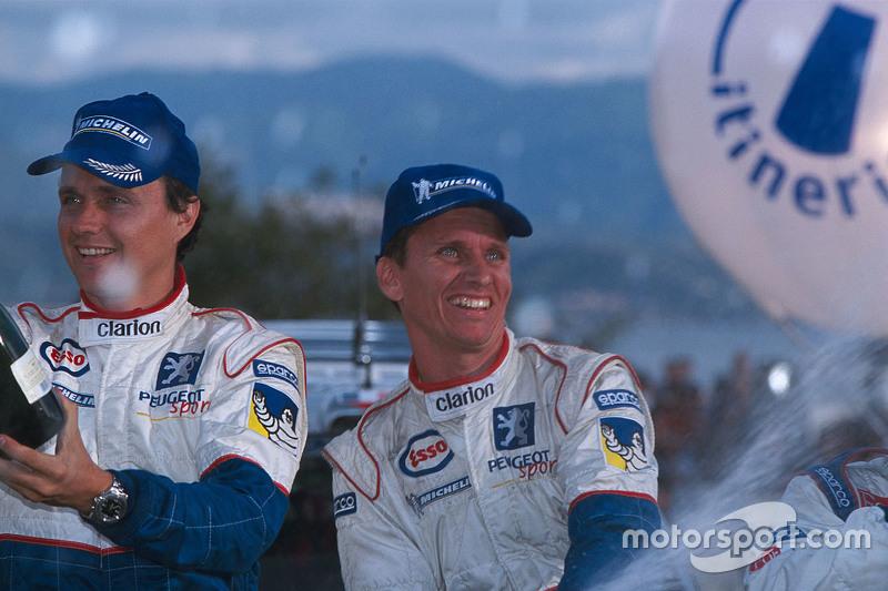Winners Gilles Panizzi y Hervé Panizzi, Peugeot Sport Peugeot 206 WRC