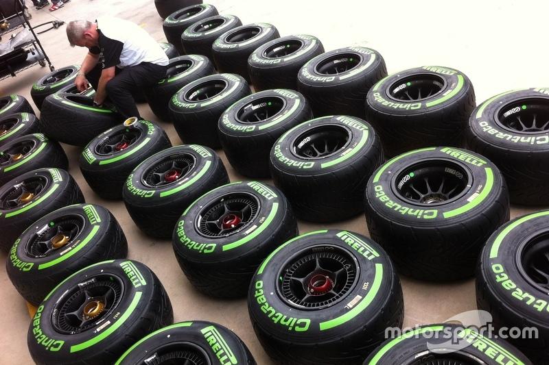 Pneus McLaren
