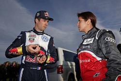 Sébastien Ogier, Volkswagen Motorsport con Leena Gade, ingegnere Audi Sport Team Joest