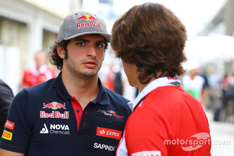 Карлос Сайнс мол., Scuderia Toro Rosso з Роберто Мері, Manor Marussia F1 Team