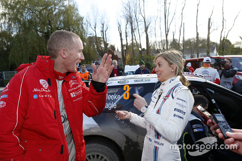 Paul Nagle, Citroën World Rally Team with Susie Wolff
