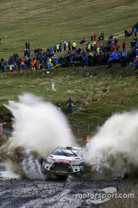 Mads Ostberg en Jonas Andersson, Citroën DS3 WRC, Citroën World Rally Team