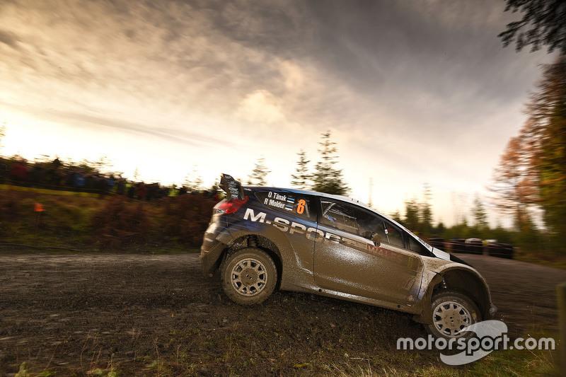 WRC - Ott Tanak et Raigo Molder, M-Sport Ford Fiesta WRC