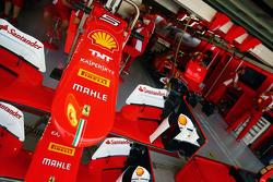 Ferrari SF15-T, i musetti