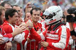 Terecre lugar Sebastian Vettel, Scuderia Ferrari