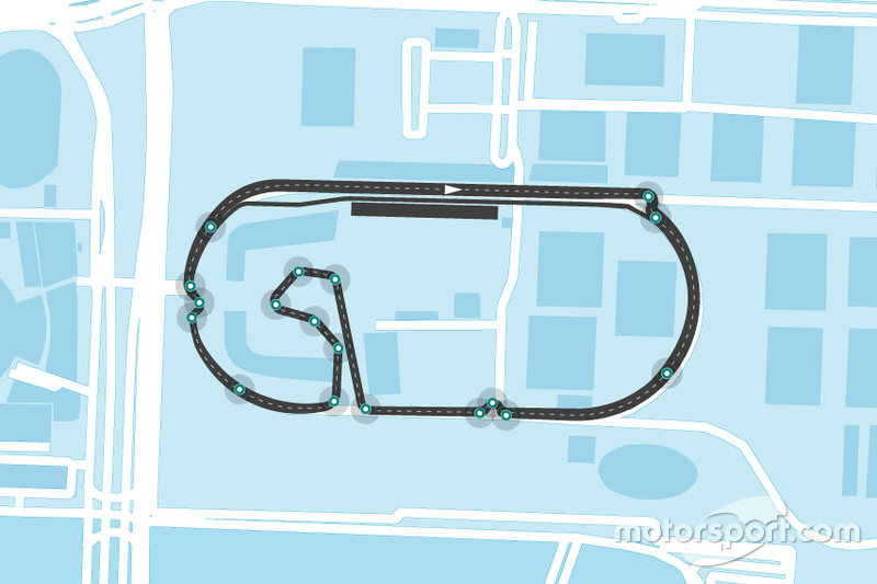 Mexico City Formula E layout