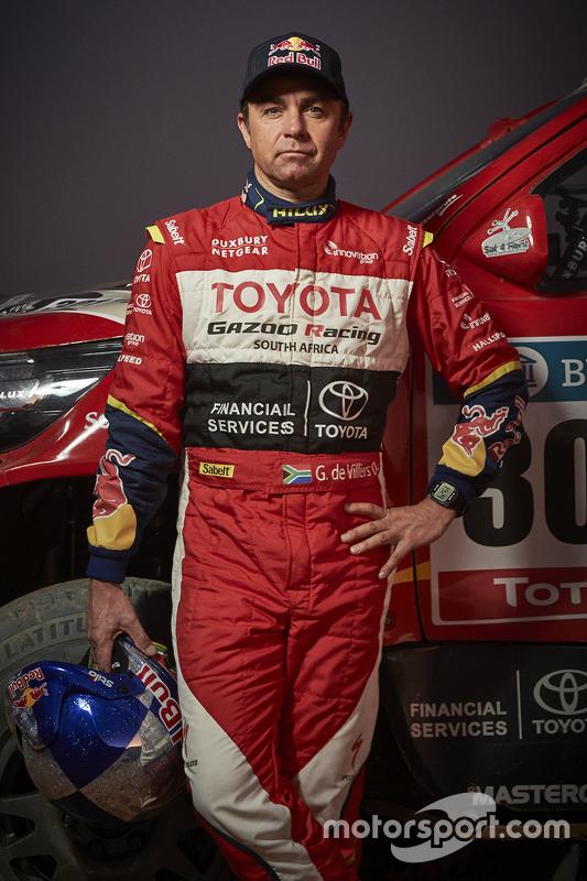 Giniel de Villiers, Toyota