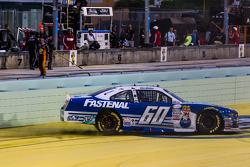 NASCAR XFINITY Series 2015 champion Кріс Бюшер, Roush Fenway Racing Ford celebratres