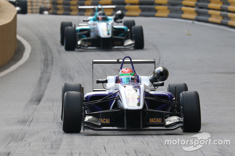 Chang Wing Chung, Fortec Motorsport Dallara Mercedes