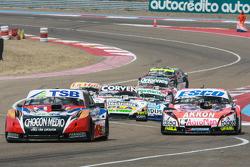 Jose Manuel Urcera, Las Toscas Racing Torino, Guillermo Ortelli, JP Racing Chevrolet, Juan Marcos An