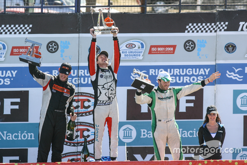 Podium, Santiago Mangoni, Laboritto Jrs Torino, Josito di Palma, CAR Racing Torino, Agustin Canapino