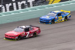 Regan Smith, JR Motorsports Chevrolet and Ryan Sieg, RSS Racing Chevrolet
