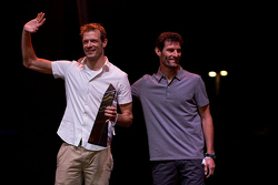 Alexander Wurz, Toyota Racing and Mark Webber, Porsche Team