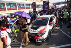 Gridgirls von Kevin Gleason, Honda Civic TCR, West Coast Racing