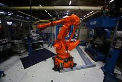 Producción del motor de Mecachrome.