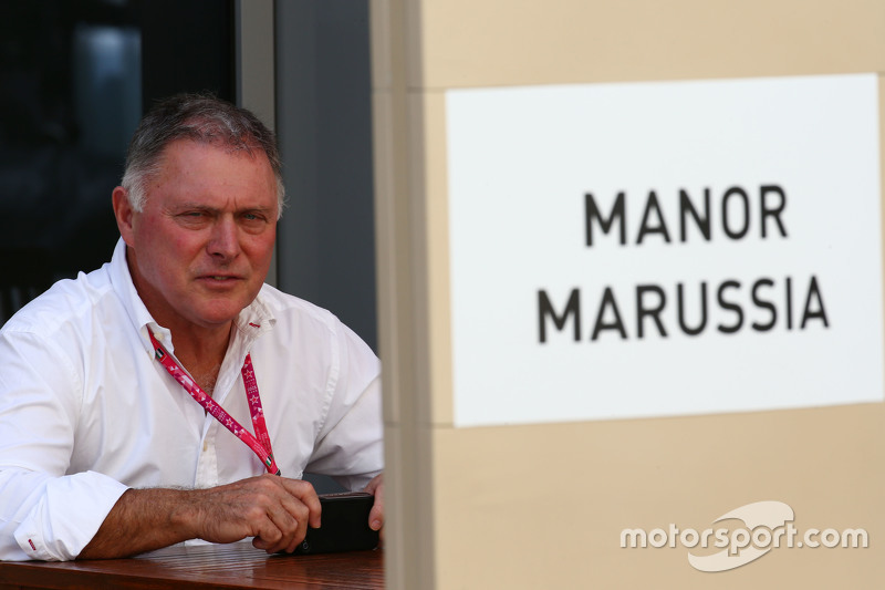 Дейв Райан, гоночный директор Manor Marussia F1 Team