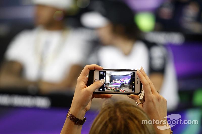 La conferencia de prensa de la FIA