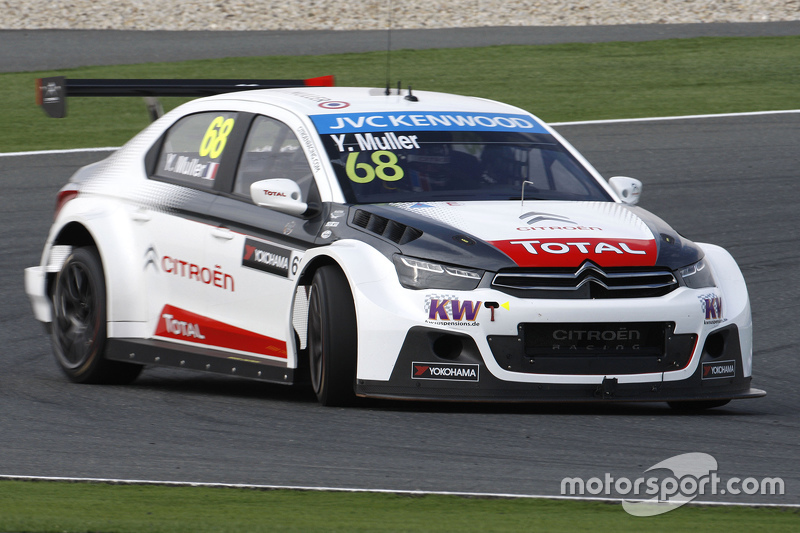 Yvan Muller, Citroën C-Elysée WTCC, Citroën World Touring Car Team