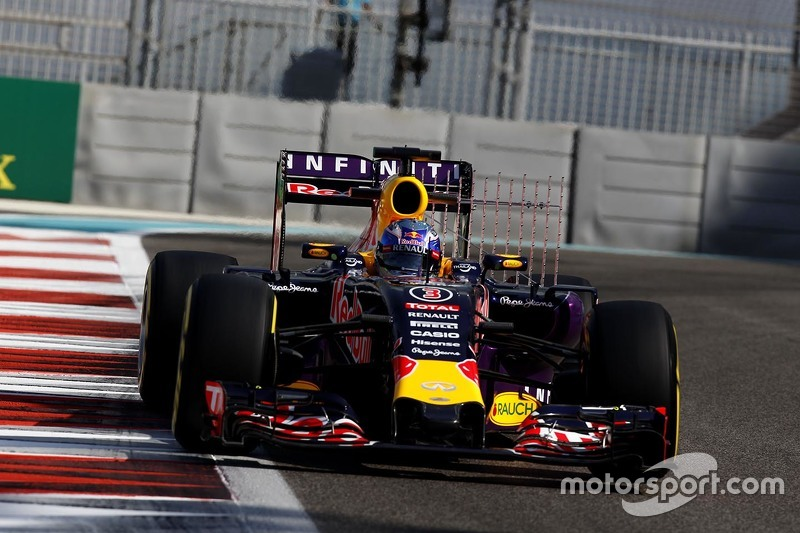 Daniel Ricciardo, Red Bull Racing RB11, mit Sensoren am Auto