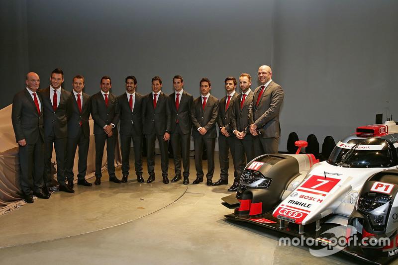 Les pilotes Audi Sport LMP1