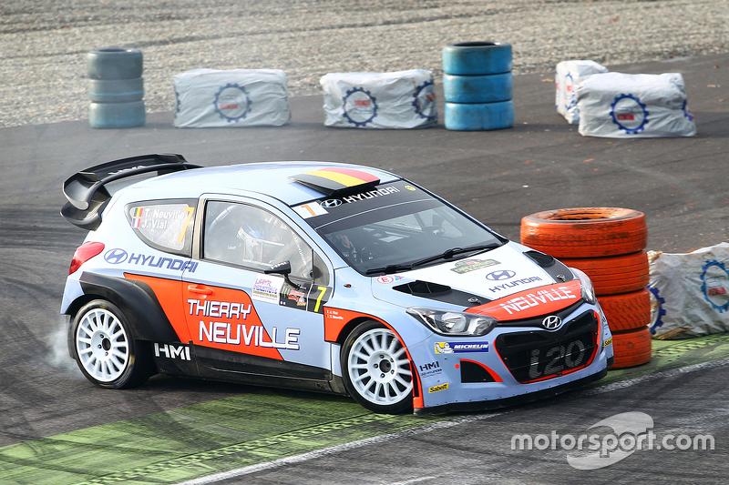 Thierry Neuville und Julien Vial, Hyundai i20