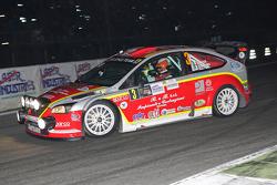 Vitantonio Liuzzi et Florean Fulvio, Ford Focus