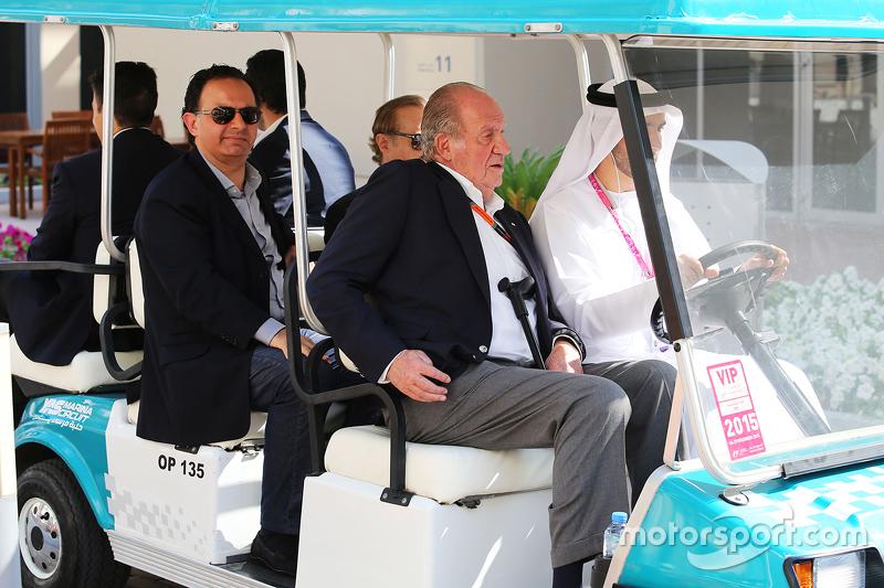 Der ehemalige spanische König Juan Carlos