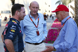 Christian Horner, Red Bull Racing Team Principal with Donald Mackenzie, CVC Capital Partners Managin