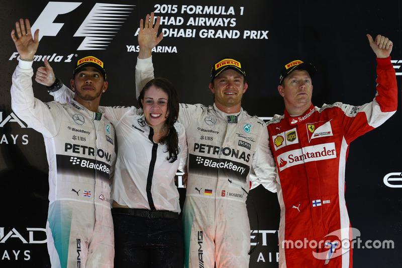 2015: Rosberg cierra el año ganador