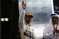 Second place Lewis Hamilton, Mercedes AMG F1 W06