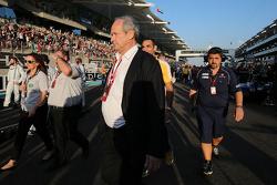 Jerome Stoll, Président de Renault Sport F1, sur la grille
