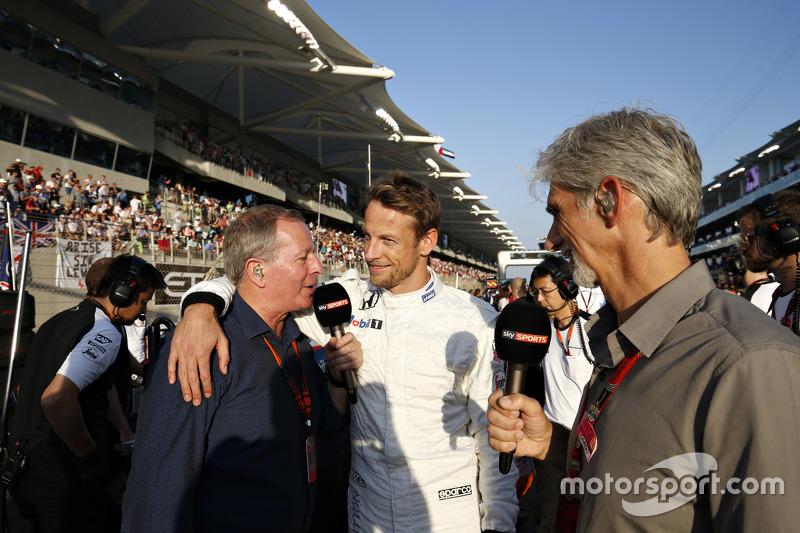 Мартин Брандл, Дженсон Баттон, McLaren MP4-30 и Дэймон Хилл