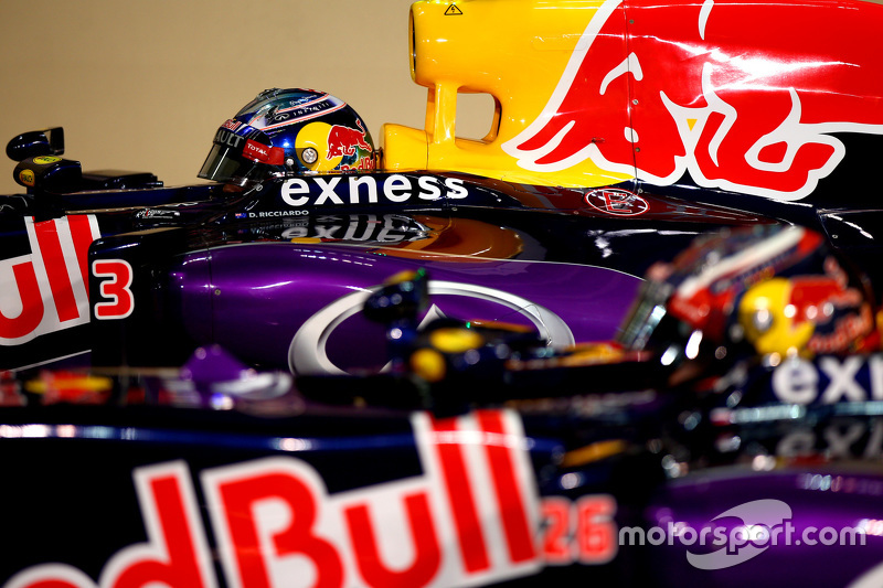 Daniil Kvyat und Daniel Ricciardo, Red Bull Racing RB11