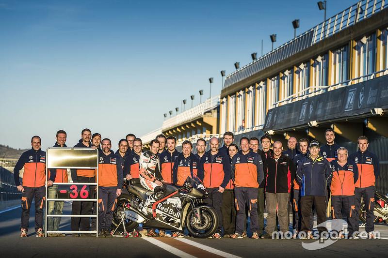 Міка Калліо, KTM з командою