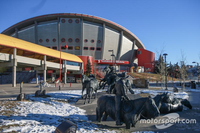 Stampede Park, Calgary, mogelijke locatie voor IndyCar race in 2017