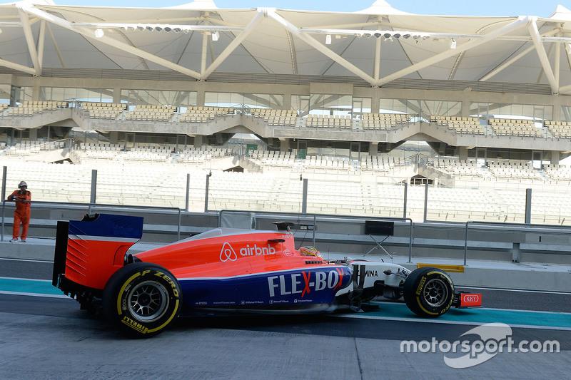 Rio Haryanto, Manor F1 Team
