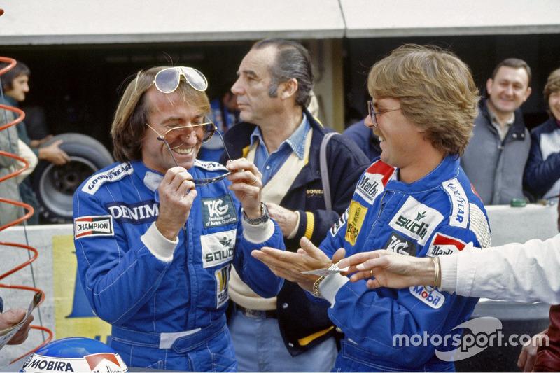 Jacques Laffite and Keke Rosberg, Williams
