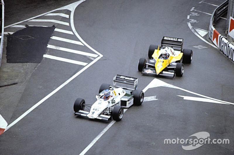 Keke Rosberg, Alain Prost'un önünde