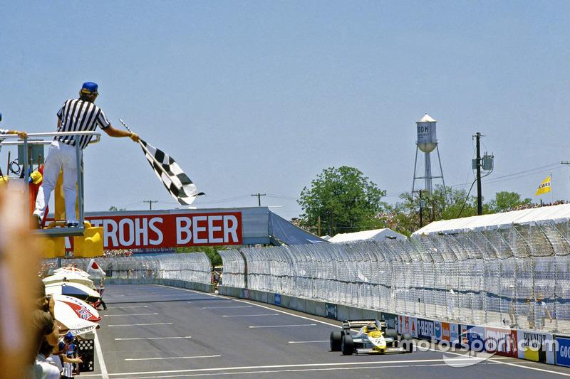 Keke Rosberg, Williams remporte la course