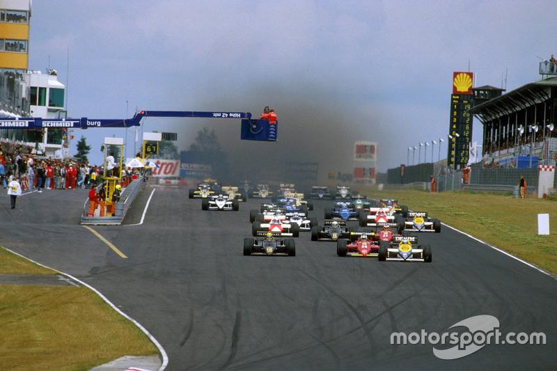 Inicio: Keke Rosberg, Williams líder