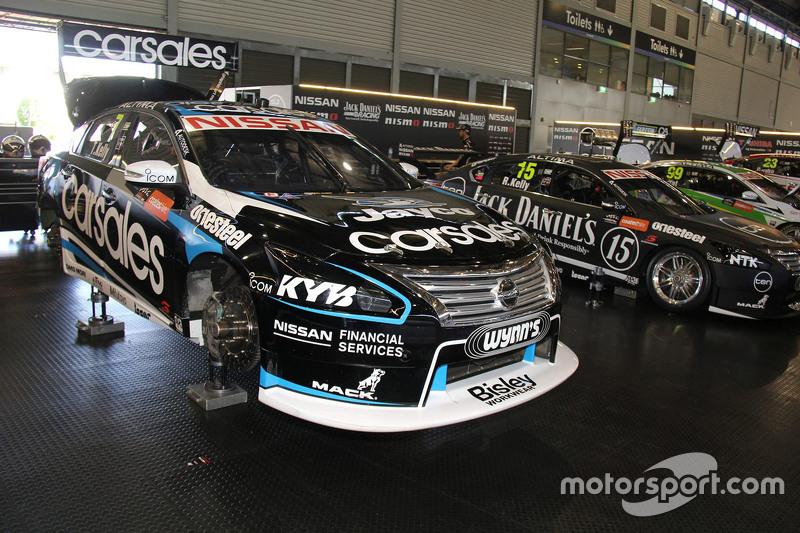 Todd Kelly, Nissan Motorsports and Rick Kelly, Nissan Motorsports