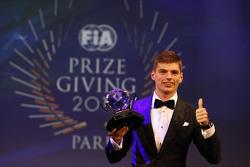 Max Verstappen, Scuderia Toro Rosso, won drie prijzen