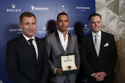 Lewis Hamilton, Mercedes AMG F1 and Tom Kristensen