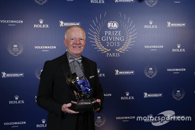 阿德里安·法威丁顿(Adrian Fawdington)获得FIA年度杰出官员奖