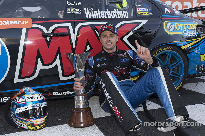 2015 V8 Supercars Champion Mark Winterbottom, Prodrive Racing Australia Ford
