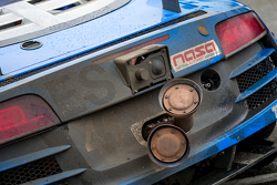 Flying Lizard Motorsports Audi detail