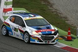 Simone Giordano ve Renata Scarzello, Peugeot 208 T16