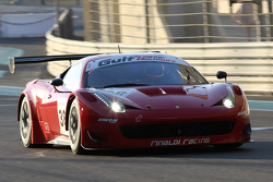 #38 Black Pearl Racing by Rinaldi Ferrari 458 İtalya: Pierre Kaffer, Willi Volz, Steve Parrow